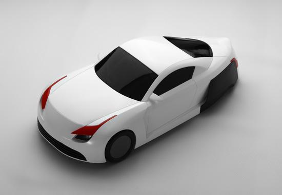 学院2010届本科毕业设计作品展;; 采用我的方案电动汽车一夜之间可以