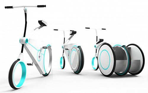 未来城市概念自行车 | 湖南省工业设计协会