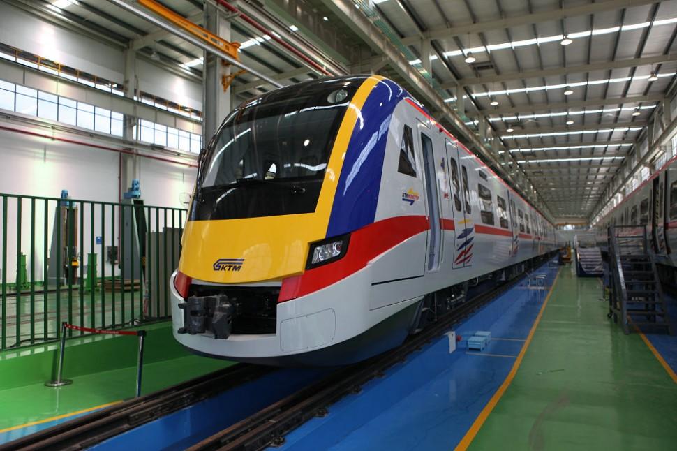 5产品3:马来西亚城际动车组